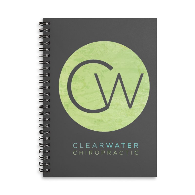 CW Accessories Lined Spiral Notebook by Clearwater Chiropractic Gear