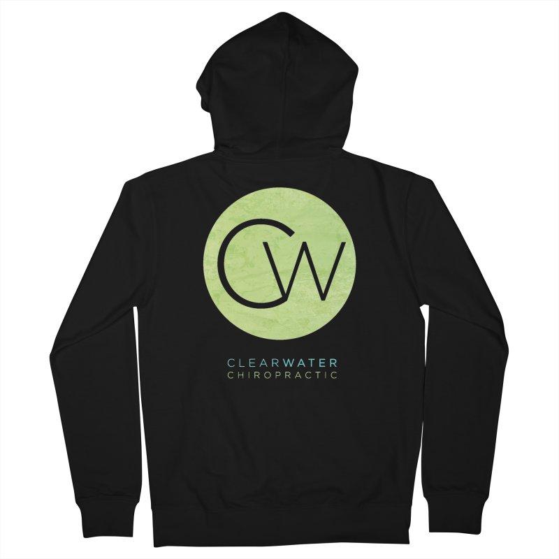CW Men's Zip-Up Hoody by Clearwater Chiropractic Gear