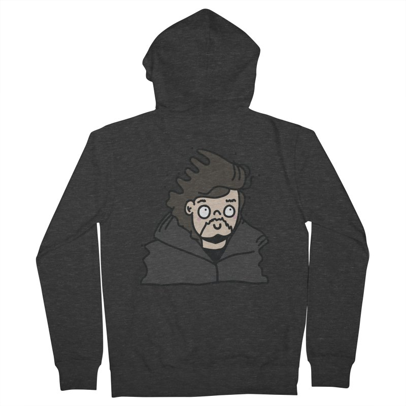 Cute Jon Snow Men's Zip-Up Hoody by clemrose's Shop