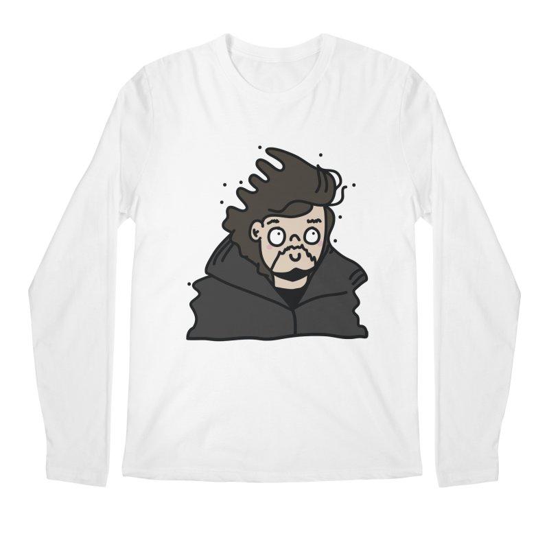 Cute Jon Snow Men's Regular Longsleeve T-Shirt by clemrose's Shop