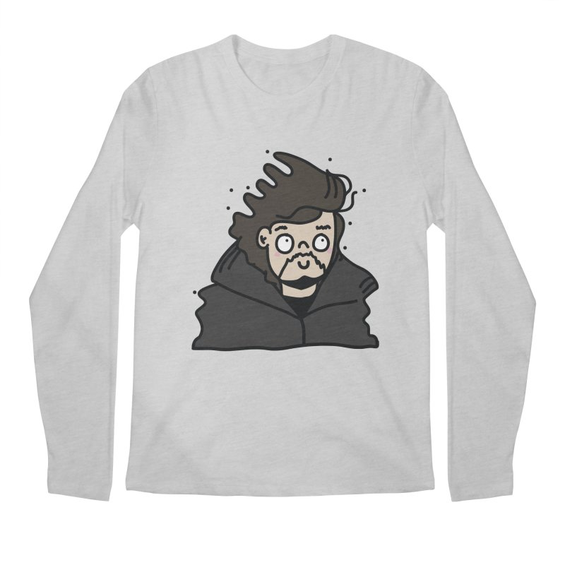 Cute Jon Snow Men's Longsleeve T-Shirt by clemrose's Shop