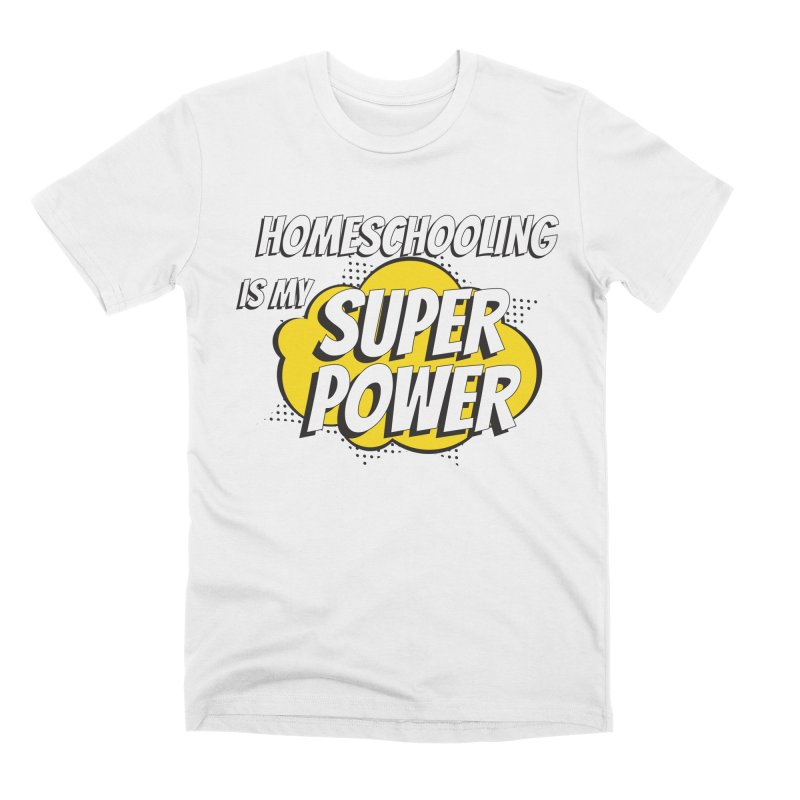 Super Power Men's T-Shirt by Cleverly Changing Shop