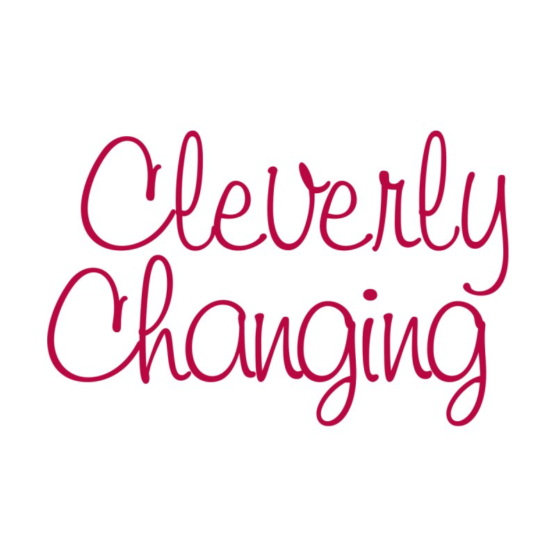 Clever Tee Home Throw Pillow by Cleverly Changing Shop