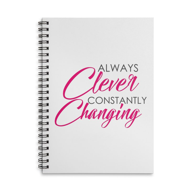 Always Clever Accessories Notebook by Cleverly Changing Shop