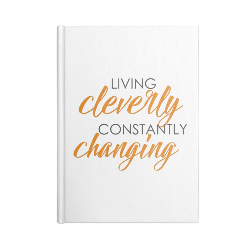 Living Accessories Lined Journal Notebook by Cleverly Changing Shop