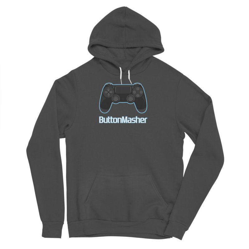 Button masher Women's Sponge Fleece Pullover Hoody by Clever Name Designs @ Threadless