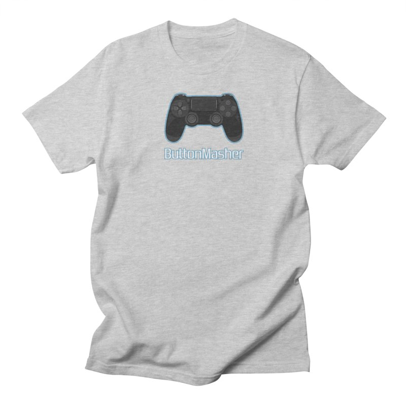 Button masher Men's Regular T-Shirt by Clever Name Designs @ Threadless