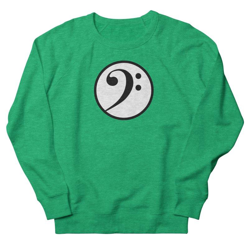 F-Clef Women's French Terry Sweatshirt by Cliche's Artist Shop