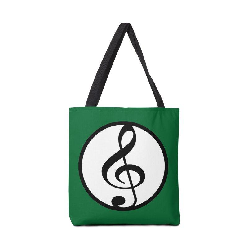 G-Clef Accessories Tote Bag Bag by Cliche's Artist Shop