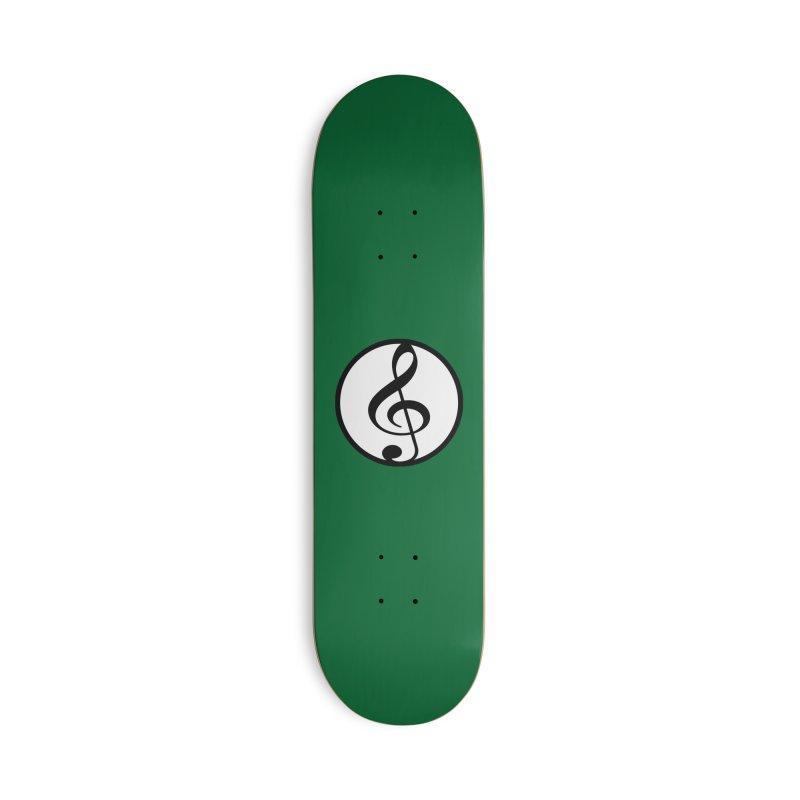 G-Clef Accessories Deck Only Skateboard by Cliche's Artist Shop