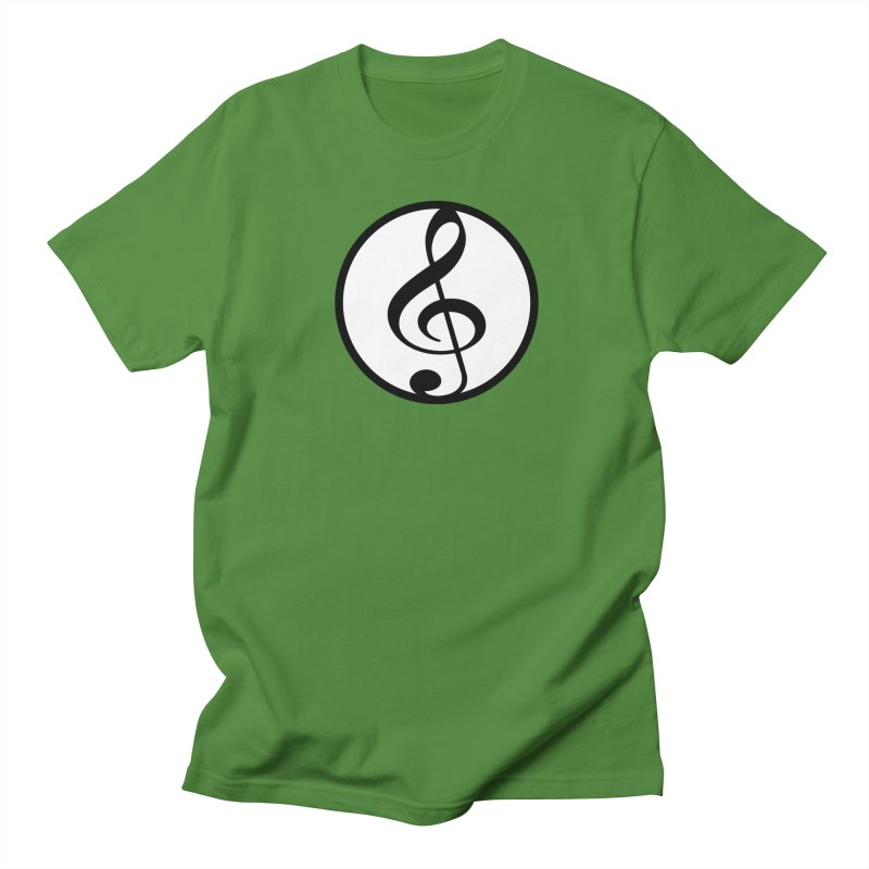 G-Clef in Men's Regular T-Shirt Clover by Cliche's Artist Shop
