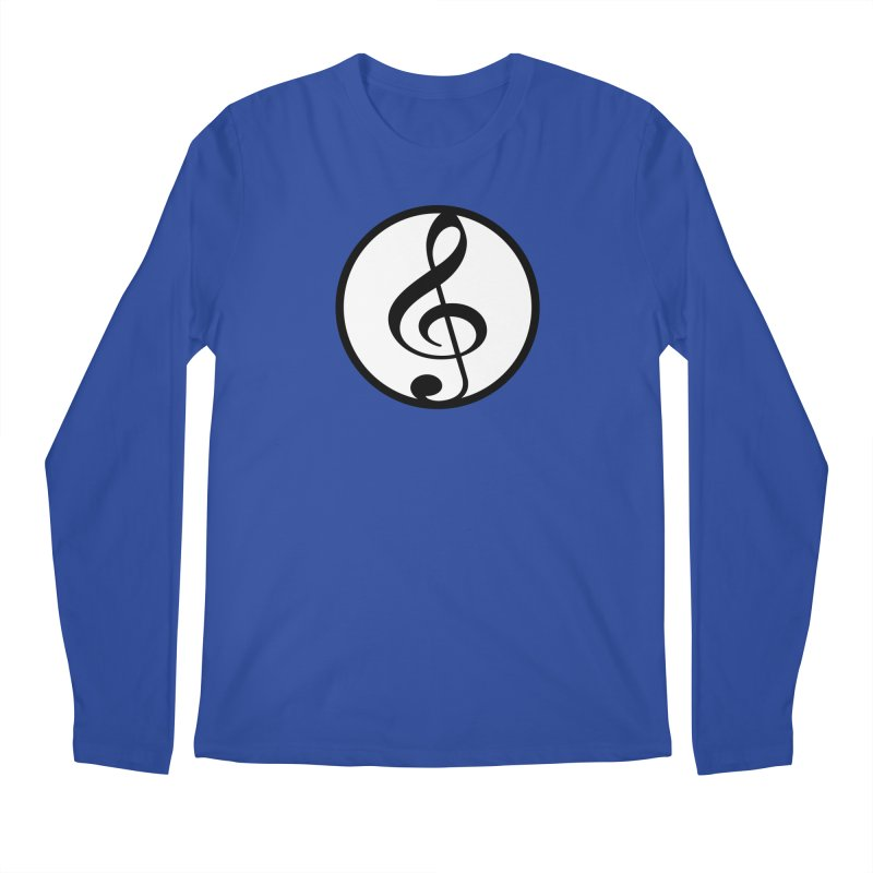 G-Clef Men's Regular Longsleeve T-Shirt by Cliche's Artist Shop