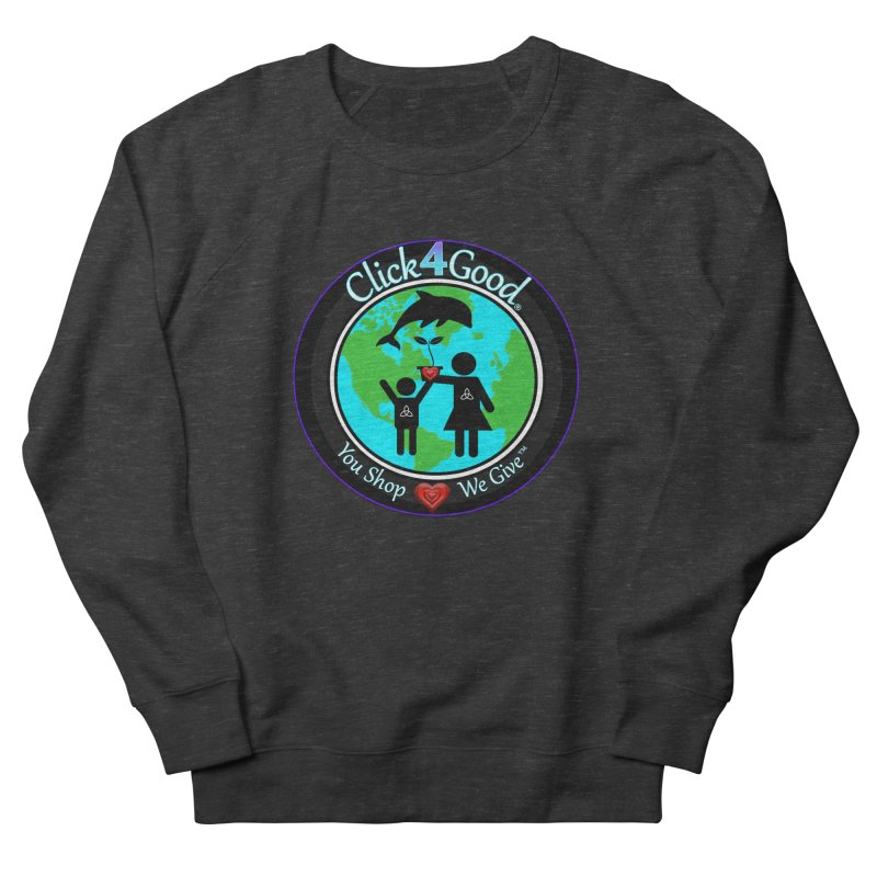 Click4Good Classic Collection in Women's Sweatshirt Smoke by Click4Good Store