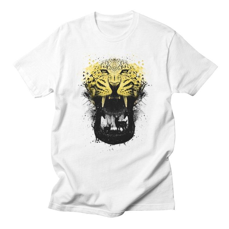 Panther Men's Regular T-Shirt by clingcling's Artist Shop