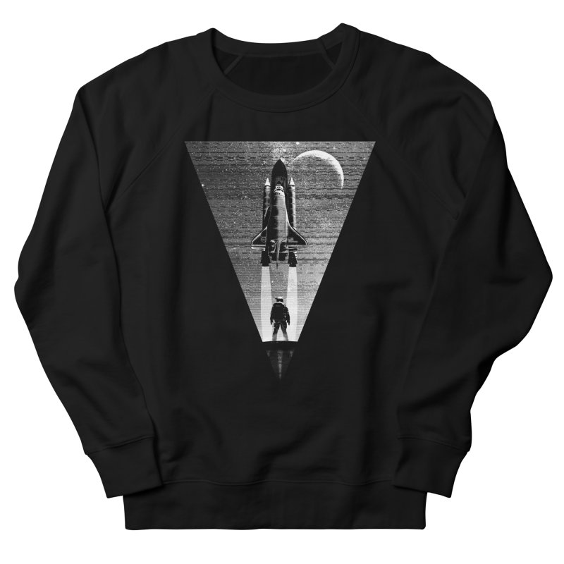 Mission to the moon Women's French Terry Sweatshirt by clingcling's Artist Shop