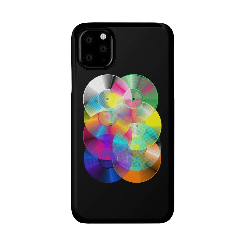Retro neon colors vinyl Accessories Phone Case by clingcling's Artist Shop
