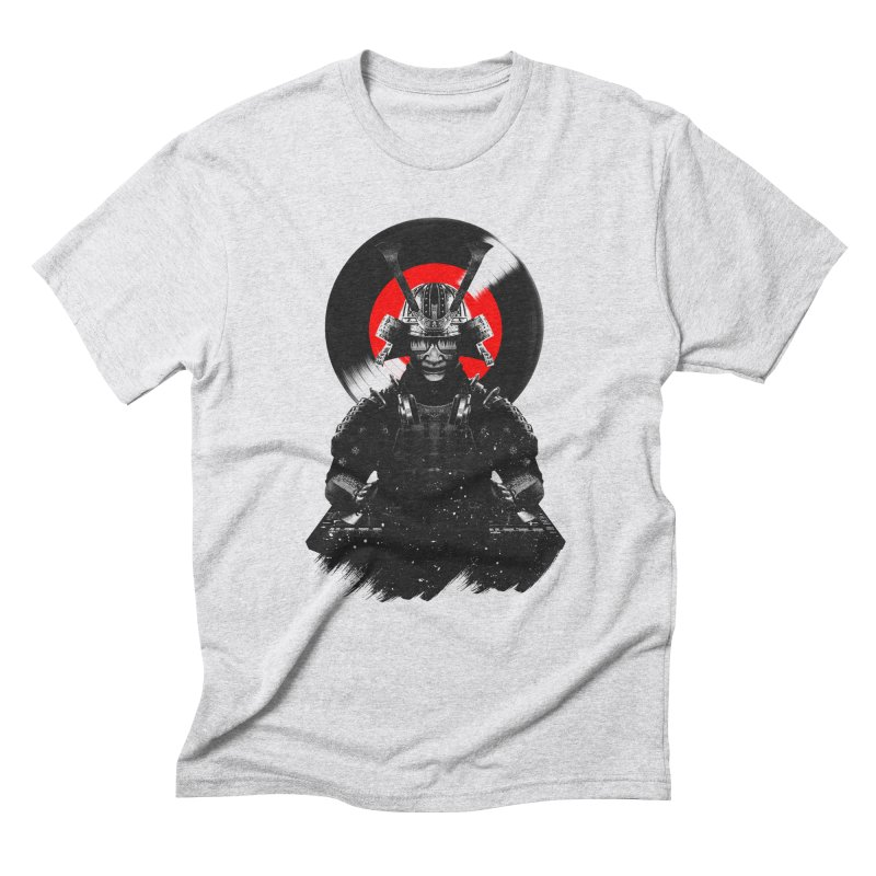 Dj Samurai Men's Triblend T-Shirt by clingcling's Artist Shop
