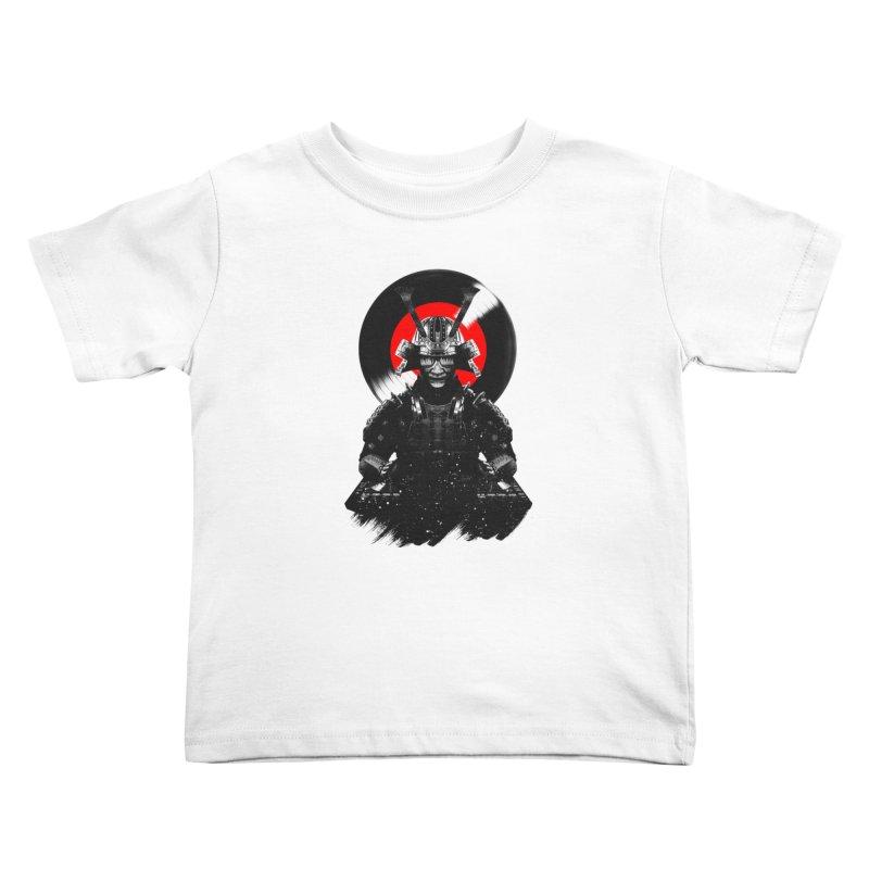 Dj Samurai Kids Toddler T-Shirt by clingcling's Artist Shop