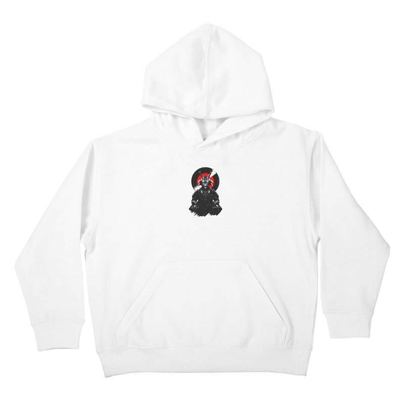 Dj Samurai Kids Pullover Hoody by clingcling's Artist Shop