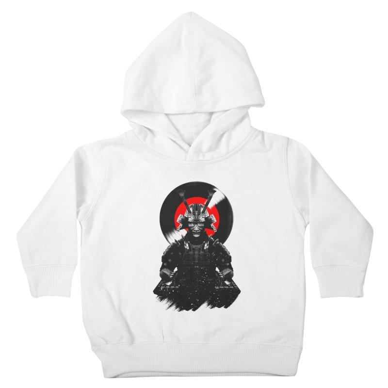 Dj Samurai Kids Toddler Pullover Hoody by clingcling's Artist Shop