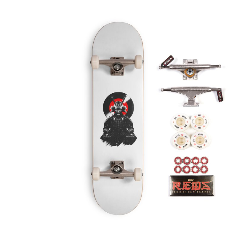 Dj Samurai Accessories Complete - Pro Skateboard by clingcling's Artist Shop