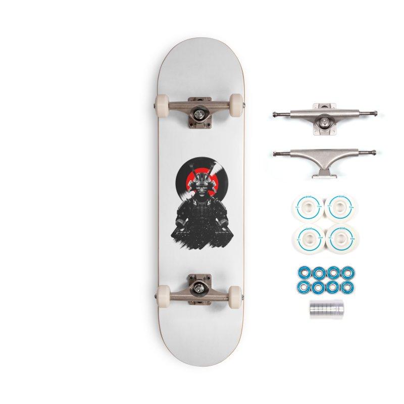 Dj Samurai Accessories Complete - Basic Skateboard by clingcling's Artist Shop