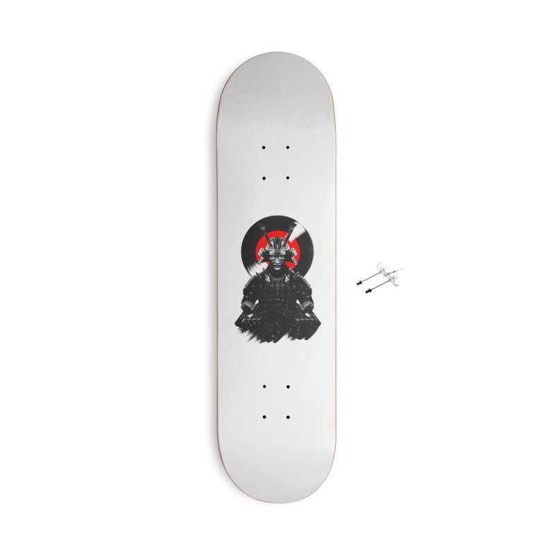 Dj Samurai Accessories With Hanging Hardware Skateboard by clingcling's Artist Shop