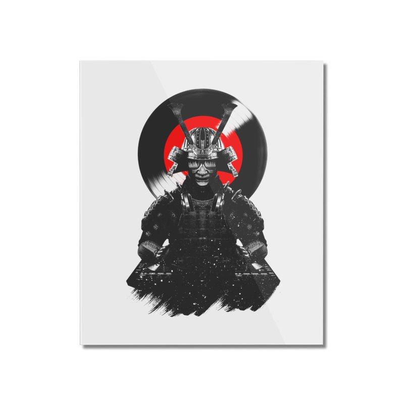 Dj Samurai Home Mounted Acrylic Print by clingcling's Artist Shop
