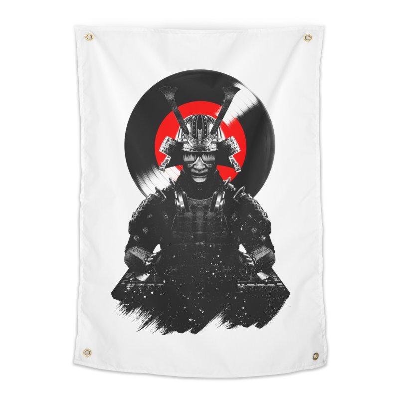 Dj Samurai Home Tapestry by clingcling's Artist Shop
