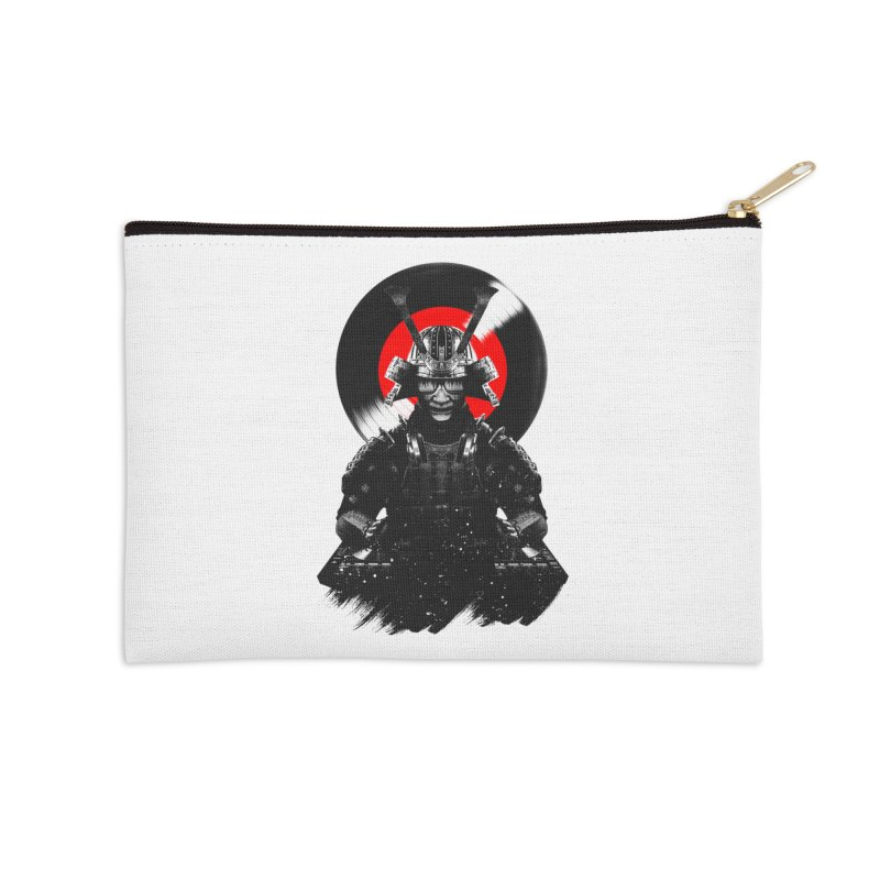 Dj Samurai Accessories Zip Pouch by clingcling's Artist Shop