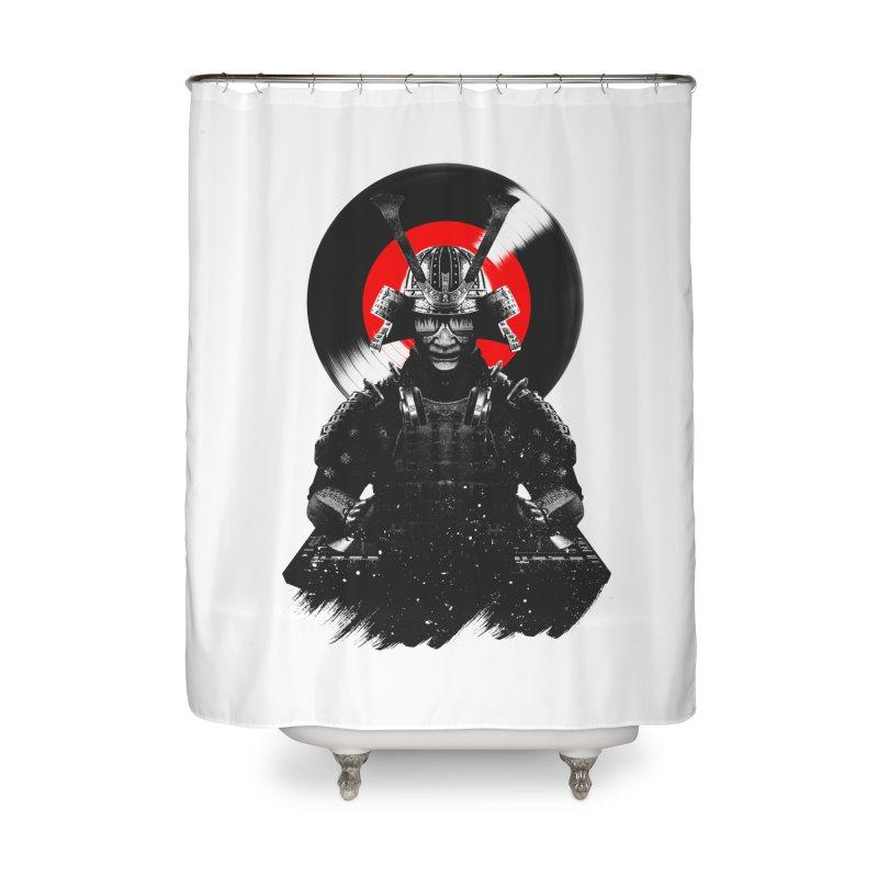 Dj Samurai Home Shower Curtain by clingcling's Artist Shop