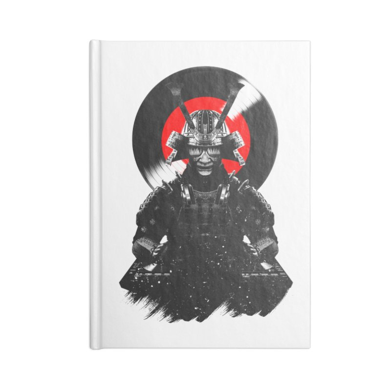 Dj Samurai Accessories Blank Journal Notebook by clingcling's Artist Shop