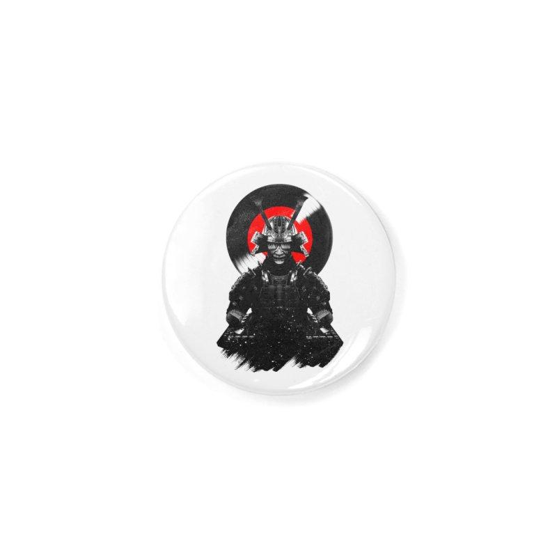 Dj Samurai Accessories Button by clingcling's Artist Shop