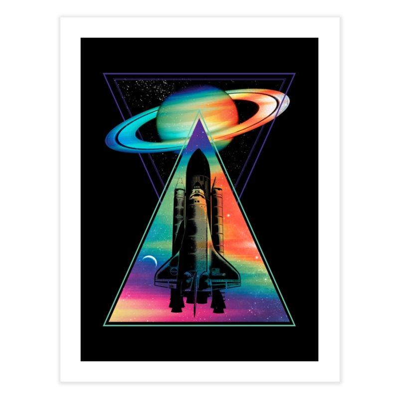 Space shuttle Home Fine Art Print by clingcling's Artist Shop