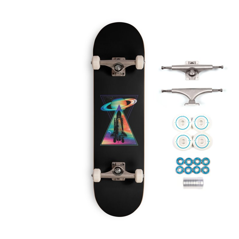 Space shuttle Accessories Complete - Basic Skateboard by clingcling's Artist Shop