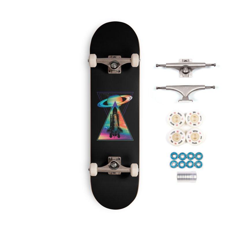 Space shuttle Accessories Complete - Premium Skateboard by clingcling's Artist Shop