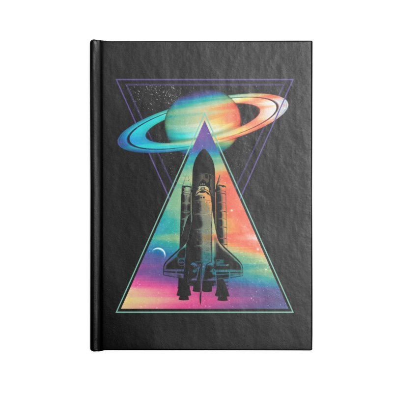 Space shuttle Accessories Blank Journal Notebook by clingcling's Artist Shop