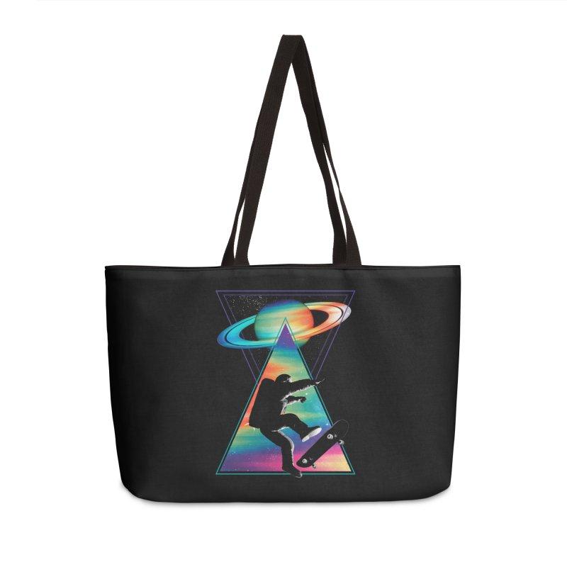 Space skateboarding Accessories Weekender Bag Bag by clingcling's Artist Shop