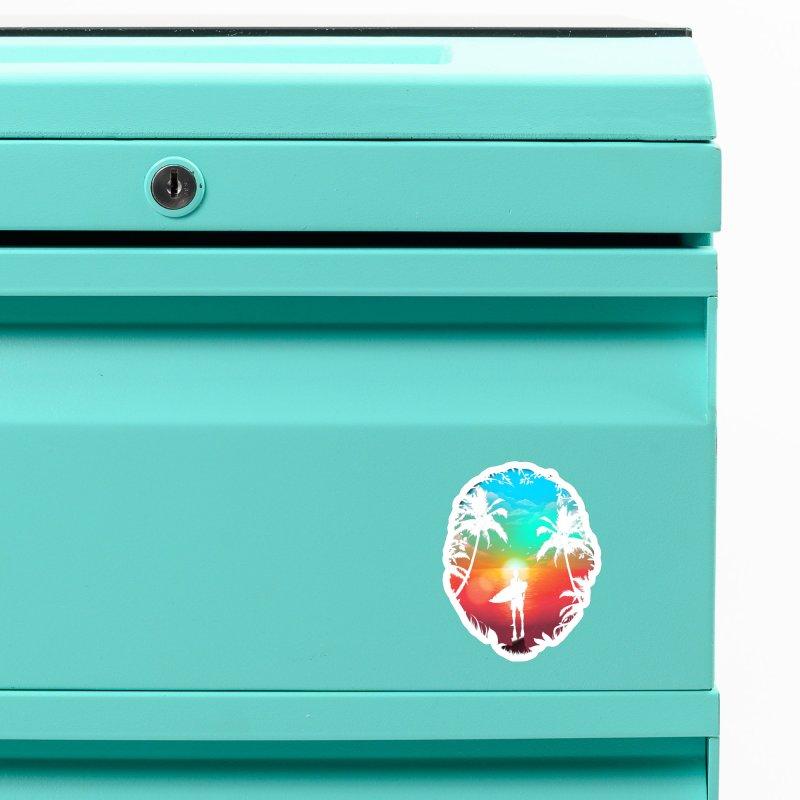 Summer Break Accessories Magnet by clingcling's Artist Shop