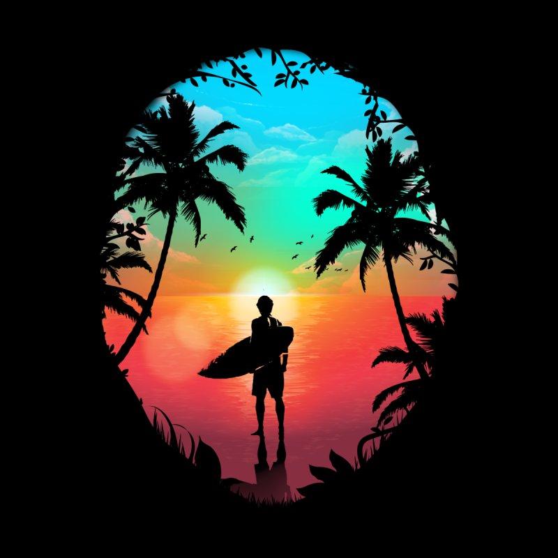 Summer Break Men's T-Shirt by clingcling's Artist Shop