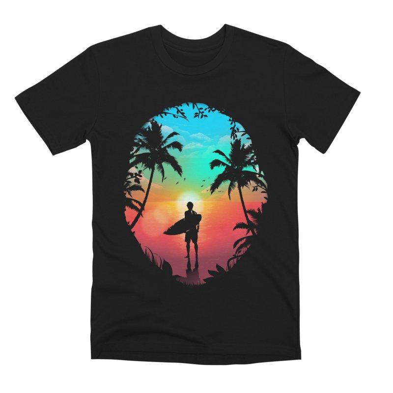 Summer Break Men's Premium T-Shirt by clingcling's Artist Shop