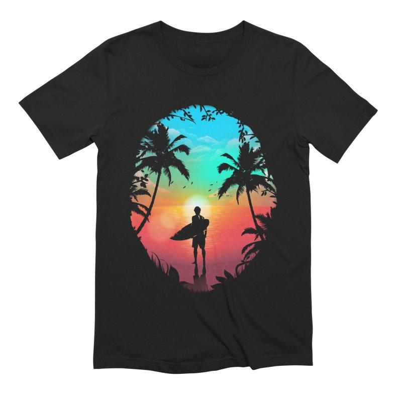 Summer Break Men's Extra Soft T-Shirt by clingcling's Artist Shop
