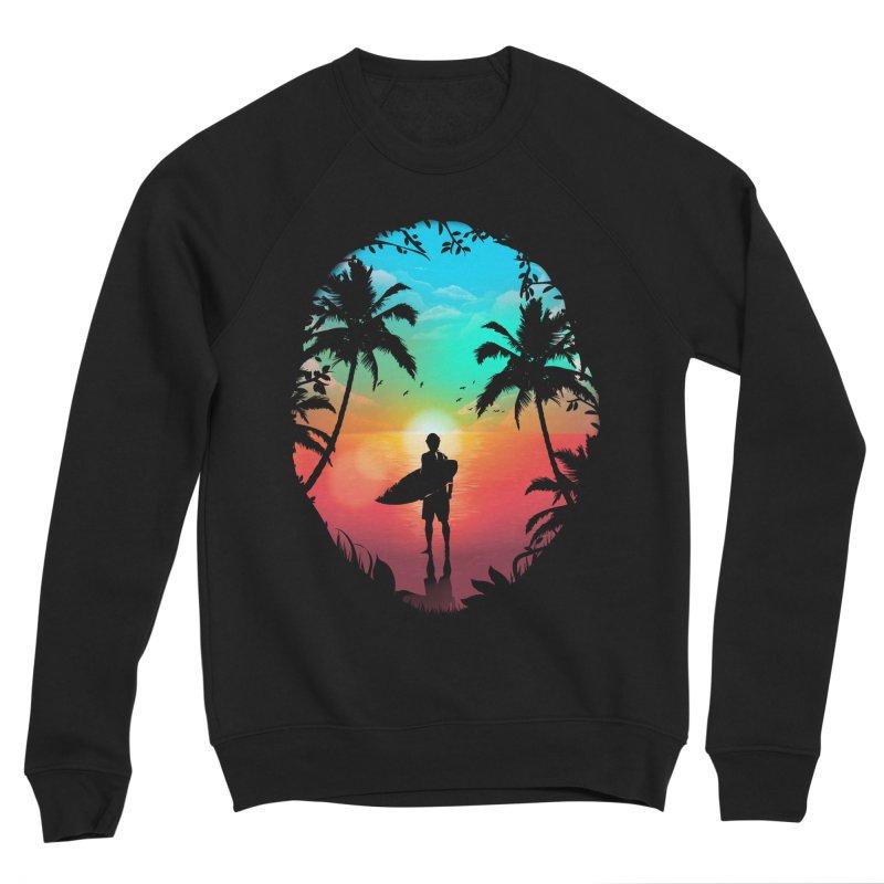 Summer Break Women's Sponge Fleece Sweatshirt by clingcling's Artist Shop