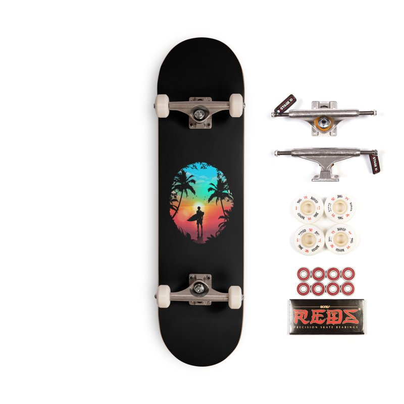Summer Break Accessories Complete - Pro Skateboard by clingcling's Artist Shop