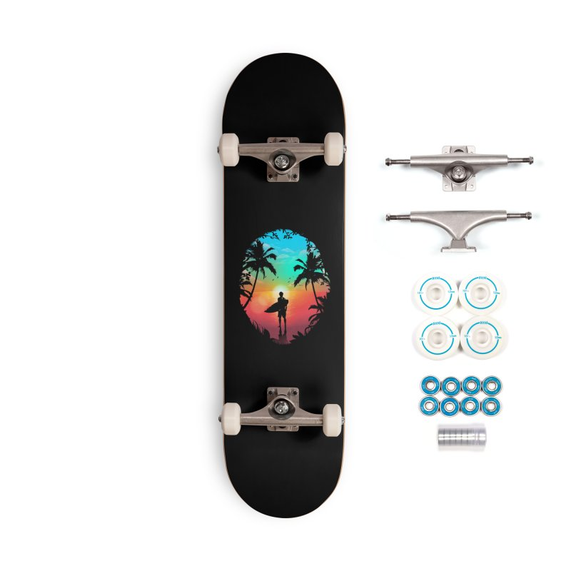 Summer Break Accessories Complete - Basic Skateboard by clingcling's Artist Shop