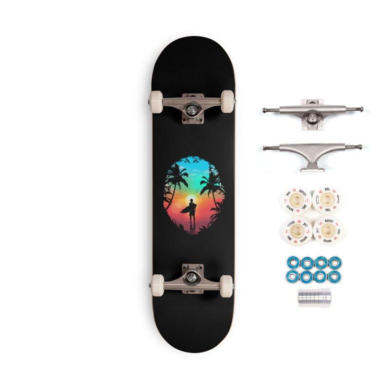 Summer Break Accessories Complete - Premium Skateboard by clingcling's Artist Shop