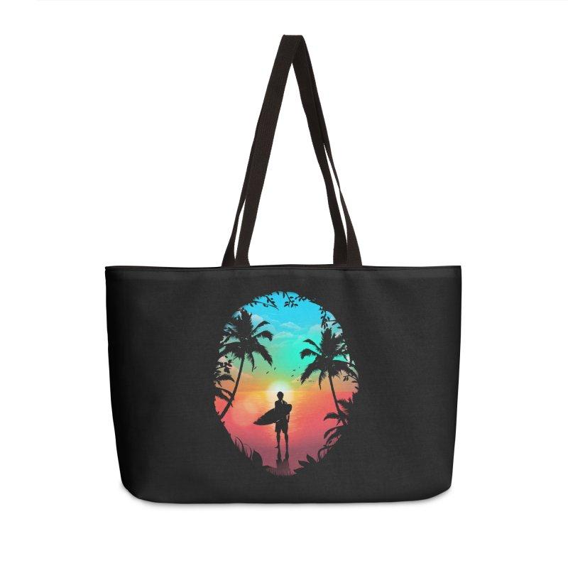 Summer Break Accessories Weekender Bag Bag by clingcling's Artist Shop