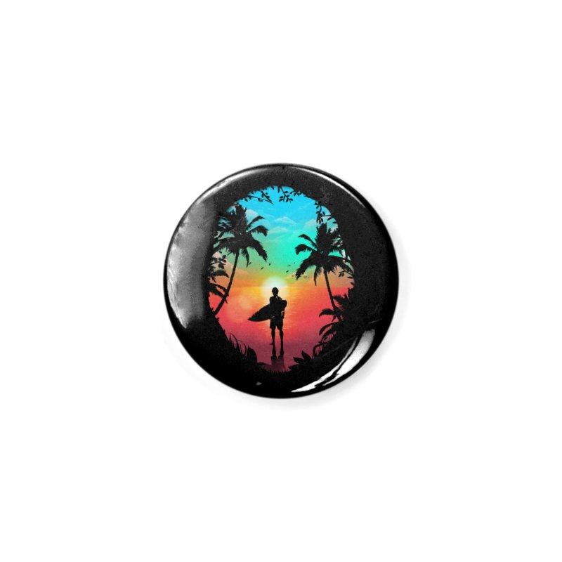 Summer Break Accessories Button by clingcling's Artist Shop