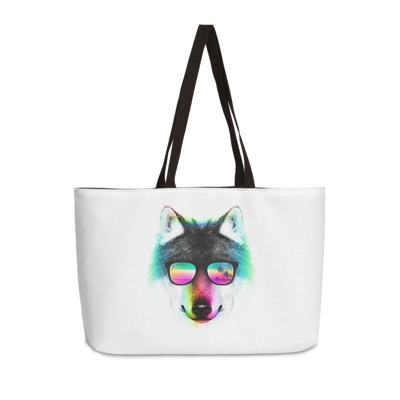 Summer Wolf Accessories Weekender Bag Bag by clingcling's Artist Shop