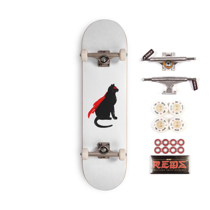 Super Hero cat Accessories Complete - Pro Skateboard by clingcling's Artist Shop